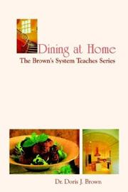 Cover of: Dining at Home