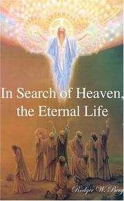 Cover of: In Search of Heaven, the Eternal Life