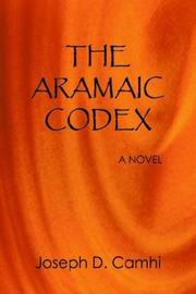 Cover of: The Aramaic Codex