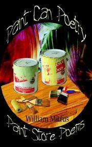 Cover of: Paint Can Poetry