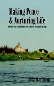 Cover of: Making Peace & Nurturing Life