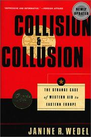 Cover of: Collision and Collusion | Janine R. Wedel