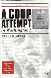 Cover of: A coup attempt in Washington?