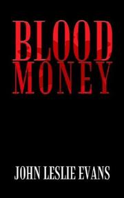 Cover of: Blood Money