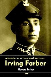 Cover of: Memories of a Holocaust Survivor - Irving Farber