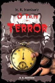 Cover of: H. R. Harrison's 3 Tales of Terror
