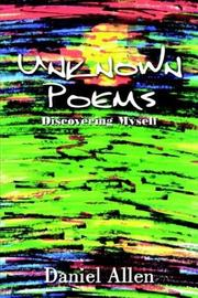 Cover of: Unknown Poems