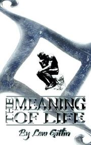 Cover of: The Meaning of Life