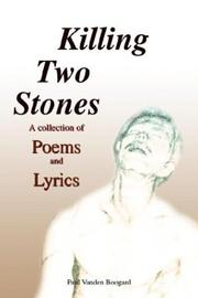Cover of: Killing Two Stones | Paul Vanden Boogard