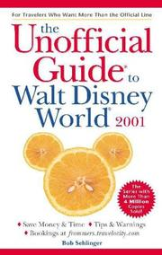 Cover of: The Unofficial Guide to Walt Disney World 2001 (Unofficial Guide to Walt Disney World, 2001)