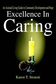 Cover of: Excellence In Caring