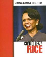 Cover of: Condoleezza Rice |
