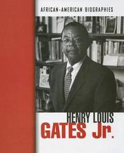 Cover of: Henry Louis Gates Jr.