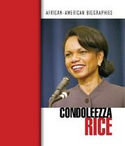 Cover of: Condoleezza Rice