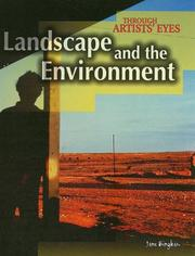 Cover of: Landscape and the environment | Jane Bingham