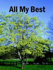 Cover of: All My Best