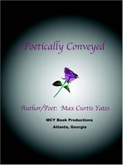 Cover of: Poetically Conveyed