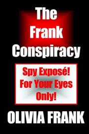 Cover of: The Frank Conspiracy
