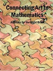 Cover of: Connecting Art to Mathematics