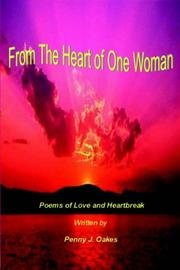 Cover of: From The Heart of One Woman