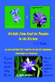 Cover of: Orchids From Seed for Pennies | CD Moulton