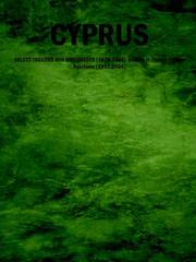 Cover of: CYPRUS: SELECT TREATIES AND DOCUMENTS (1878-2004) Volume II: Cyprus-Europe Relations (1993-2004)
