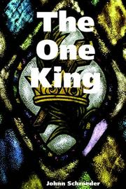 Cover of: The One King | Johnn Schroeder