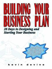Cover of: Building Your Business Plan