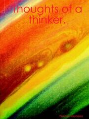 Cover of: Thoughts of a thinker. | Werner Reyneke