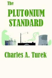 Cover of: The Plutonium Standard