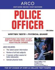 Cover of: Police Officer, 15 Edition (Civil Service/Military)