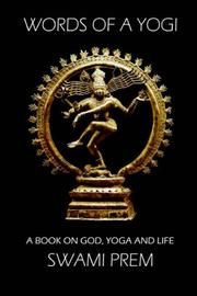 Cover of: Words of a Yogi