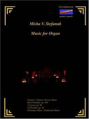 Cover of: Music for Organ Volume I. Church Music