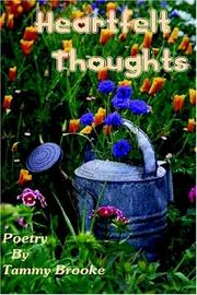Cover of: Heartfelt Thoughts (N)