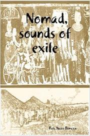 Cover of: Nomad, sounds of exile