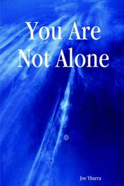 Cover of: You Are Not Alone