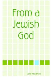 Cover of: From a Jewish God