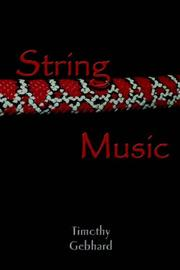 Cover of: String Music