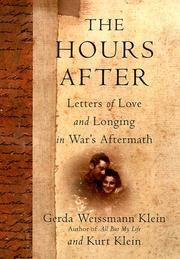 Cover of: The hours after