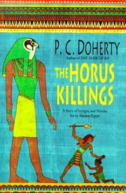 Cover of: The Horus killings