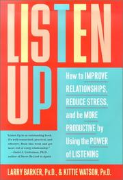 Cover of: Listen up