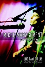 Cover of: Music Management for the Rest of Us