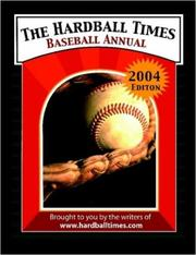 Cover of: The Hardball Times Baseball Annual