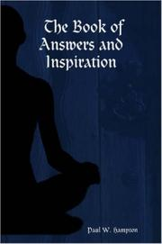 Cover of: The Book of Answers and Inspiration