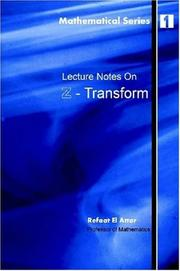 Cover of: Lecture notes on Z-Transform