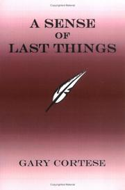 Cover of: A Sense of Last Things