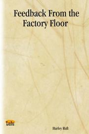 Cover of: Feedback From the Factory Floor