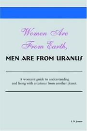 Cover of: Women Are From Earth, Men Are From Uranus