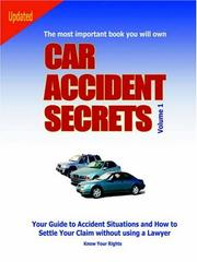 Cover of: Car Accident Secrets