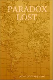 Cover of: PARADOX LOST